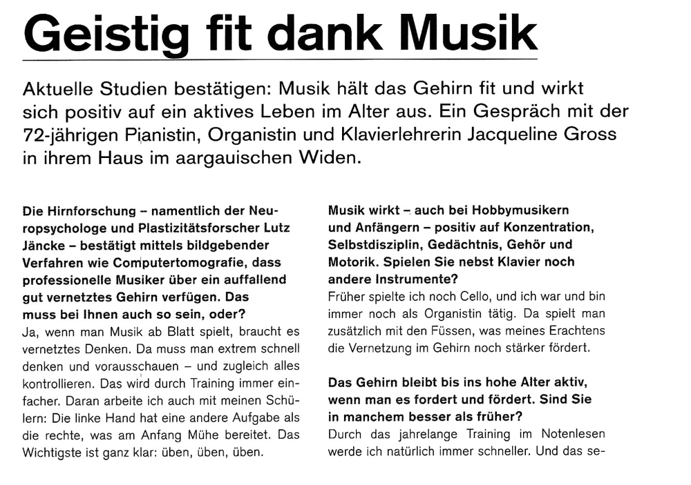 Geistig fit dank Musik-1