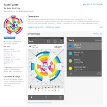ScaleTwister als App erhältlich!