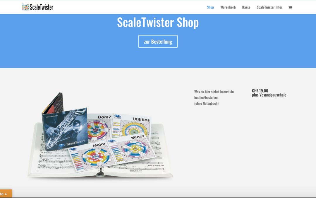 NEU Shop für Bestellung ScaleTwister