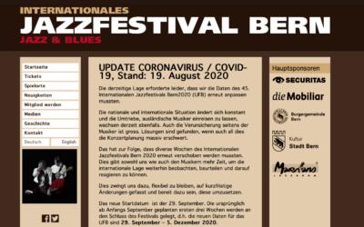 Jazzfestival Bern – warum nicht Schweizer Musiker buchen?