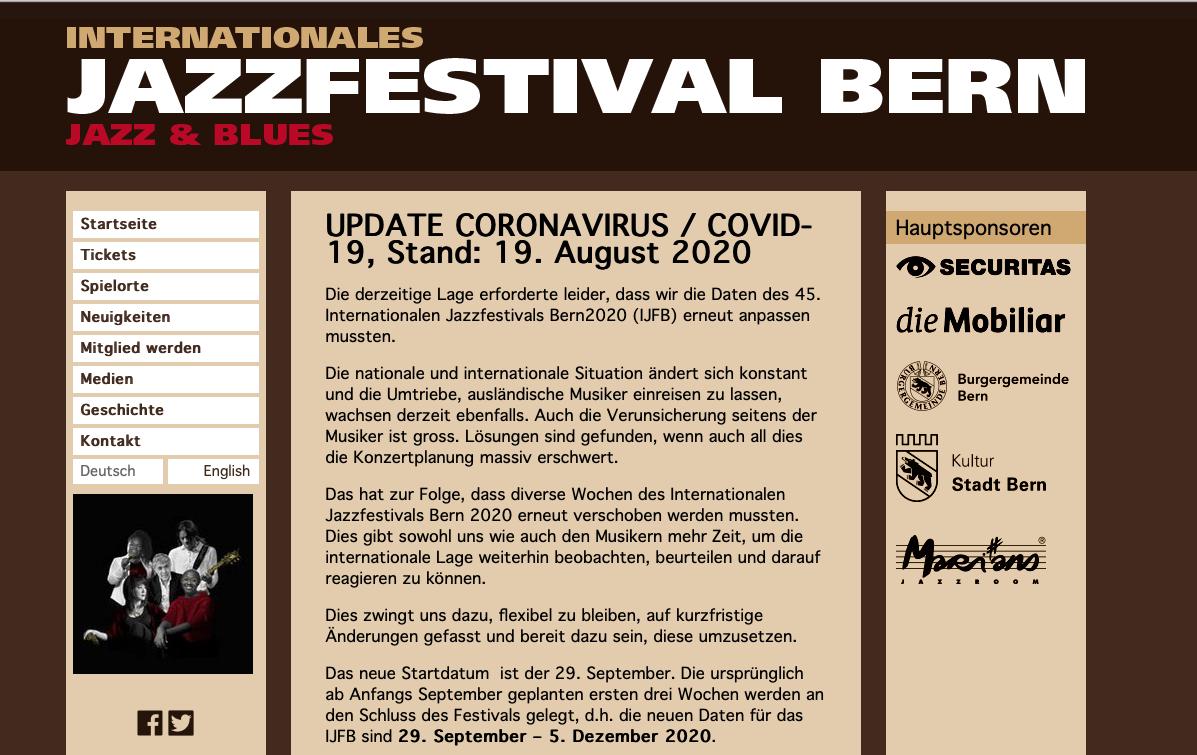 Jazzfestival Bern