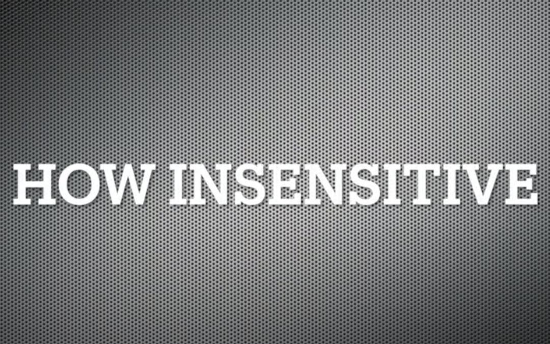 Improvisations-Beispiel How Insensitiv